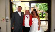 Mike with Lisa & James