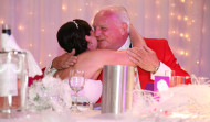 Toastmaster Mike with Bride Vicky