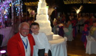 Mike the Merseyside Toastmaster with 'Jacob'
