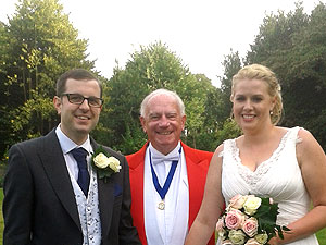 The Merseyside Toastmaster Mike with James & Sophie
