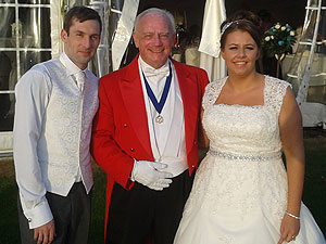 The Merseyside Toastmaster Mike with Olivia & Liam